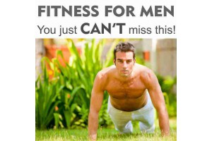 FITNESS for MEN - You just can't miss this!